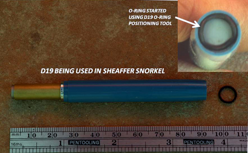 SHEAFFER O-RING SEATER